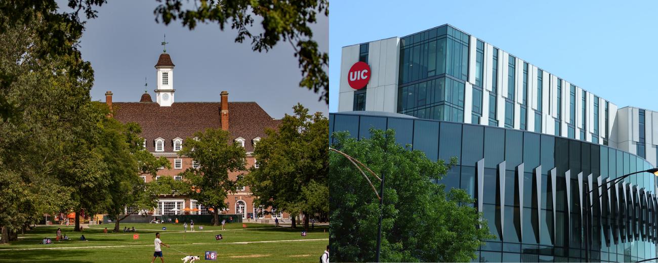 UIUC & UIC buildings