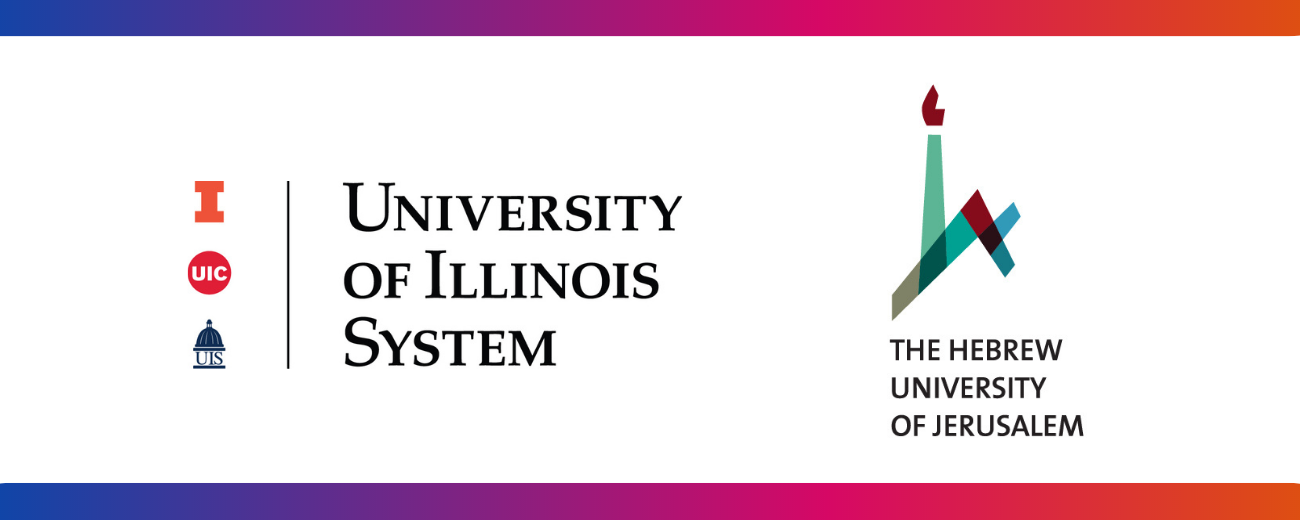 U of I System and Hebrew University logos