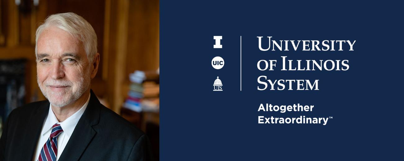 Tim Killeen & the U of I System logo