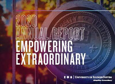 university seal/annual report cover